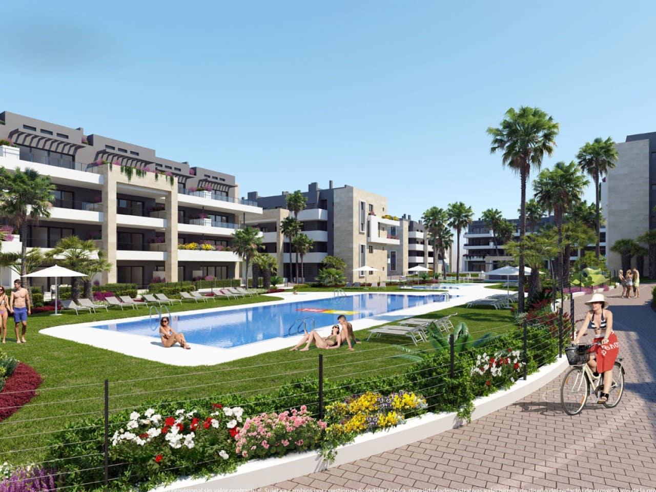 Apartamento de 2 habitaciones en Playa Flamenca en venta con piscina - 215.000 € (Ref: 4982804)