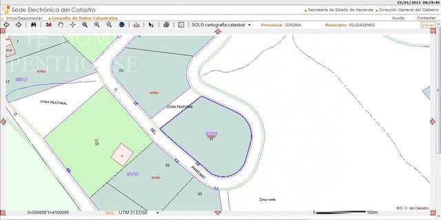 Terreno para Construção para venda em Riudarenes - 60 000 € (Ref: 6206042)
