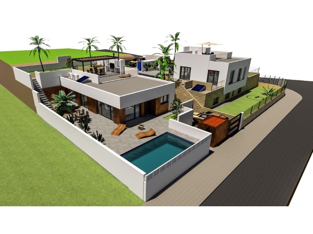 Chalet de 3 habitaciones en Polop en venta con piscina - 299.000 € (Ref: 4471146)