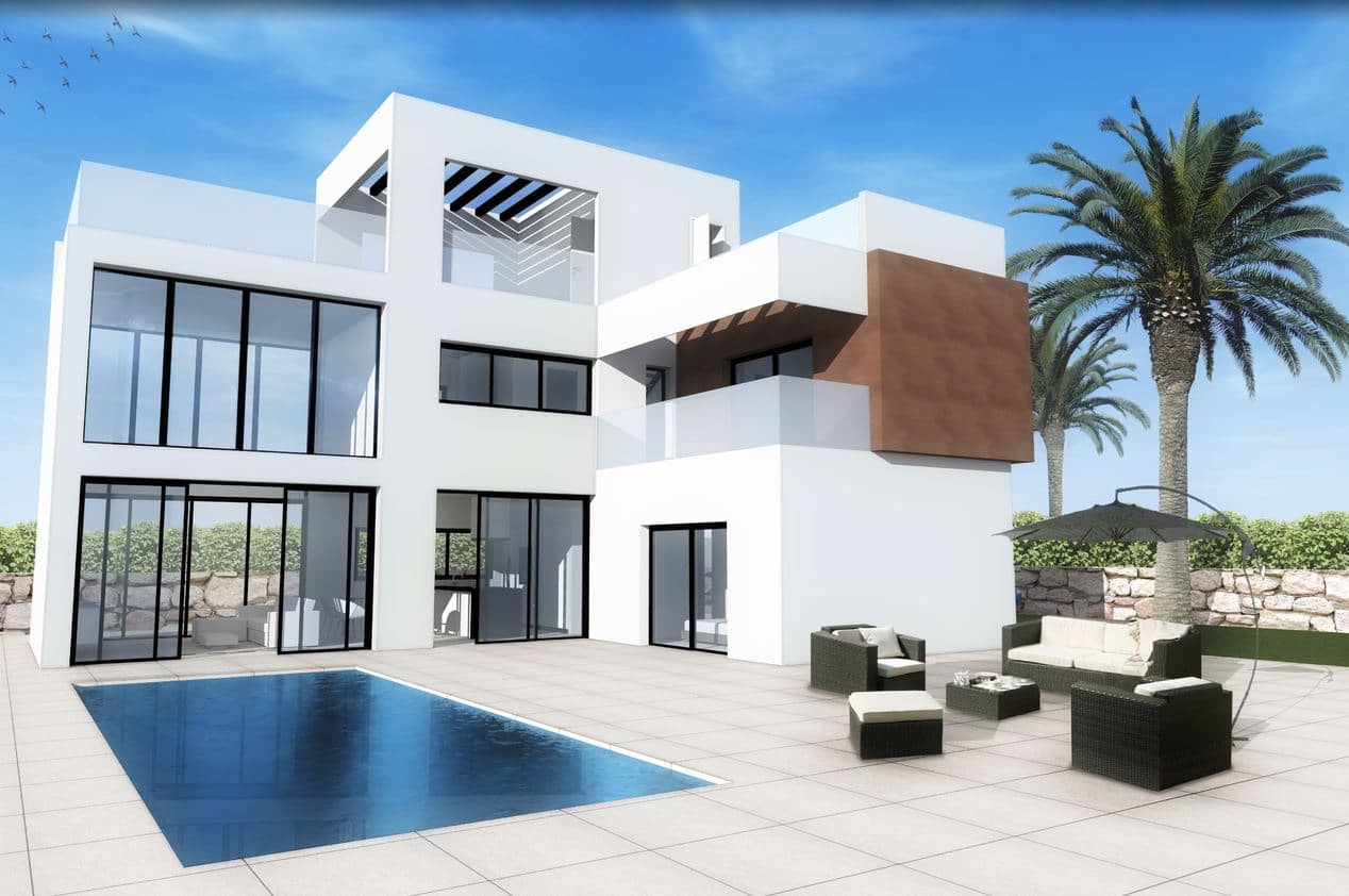 3 bedroom Villa for sale in Finestrat with pool - € 369,900 (Ref: 4569528)