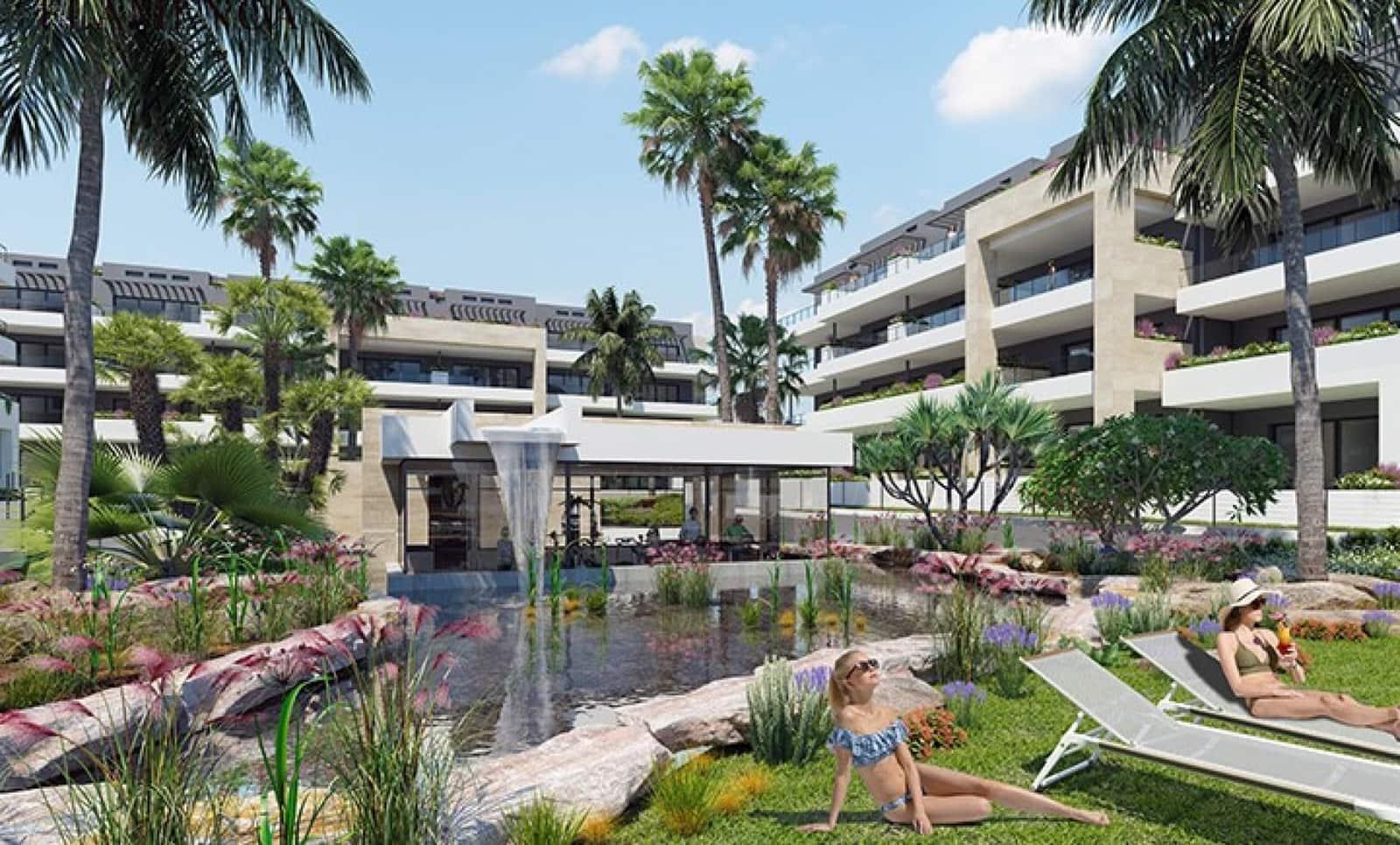 Apartamento de 2 habitaciones en Playa Flamenca en venta con piscina - 175.000 € (Ref: 4716861)