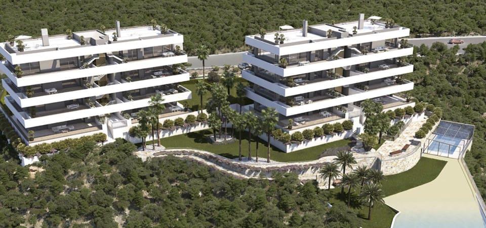 Apartamento de 3 habitaciones en Las Colinas Golf en venta con piscina - 565.000 € (Ref: 4817064)