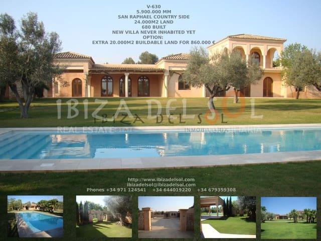 Chalet de 6 habitaciones en Sant Rafael de Sa Creu en venta - 5.900.000 € (Ref: 5248249)