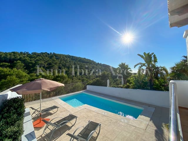 3 soveværelse Byhus til leje i San Jose / Sant Josep de Sa Talaia med swimmingpool garage - € 2.000 (Ref: 5396351)