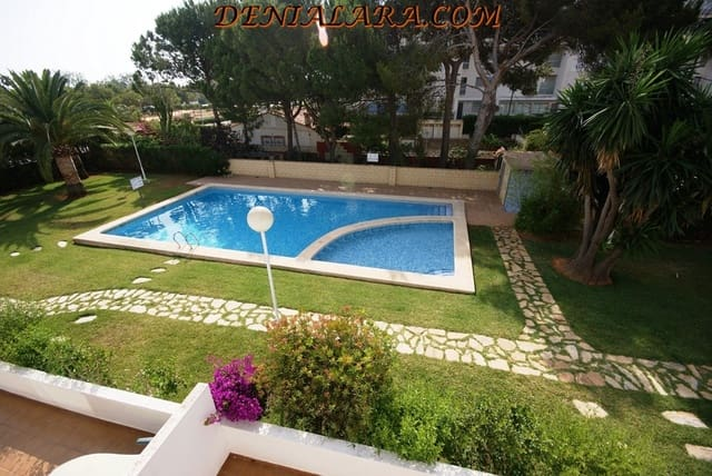 2 Zimmer Ferienapartment in Denia mit Pool - 450 € (Ref: 4066259)