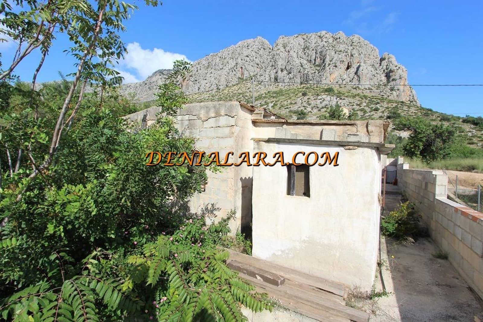 Finca/Casa Rural de 2 habitaciones en Ondara en venta - 62.000 € (Ref: 4970282)