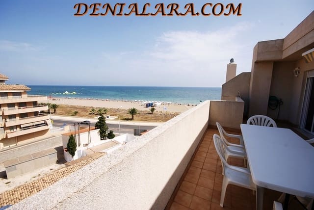 3 bedroom Penthouse for holiday rental in Denia with pool garage - € 650 (Ref: 5842152)