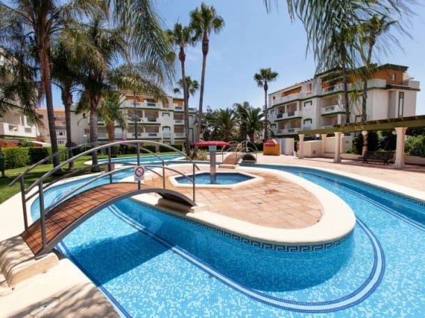 3 bedroom Apartment for holiday rental in Denia with pool - € 550 (Ref: 5842162)
