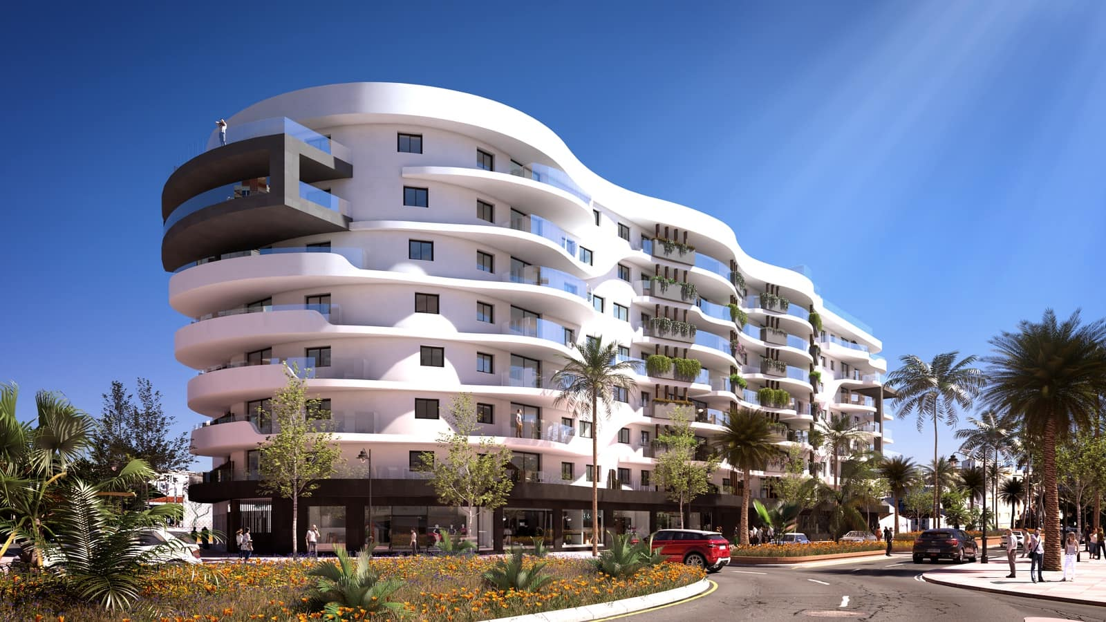 2 bedroom Apartment for sale in Estepona with pool - € 480,950 (Ref: 4122364)