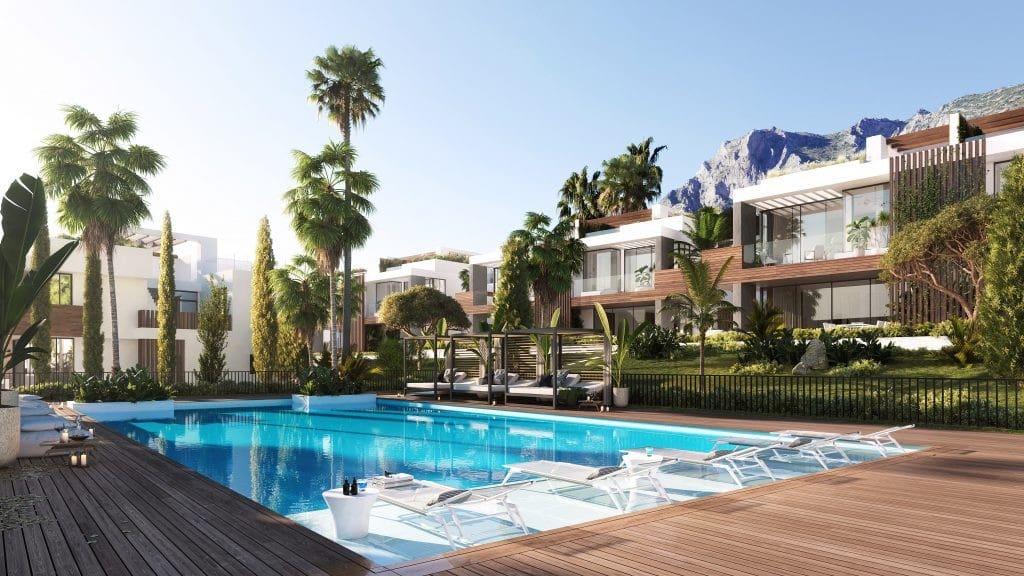 4 bedroom Semi-detached Villa for sale in Marbella with pool garage - € 1,675,000 (Ref: 4550989)