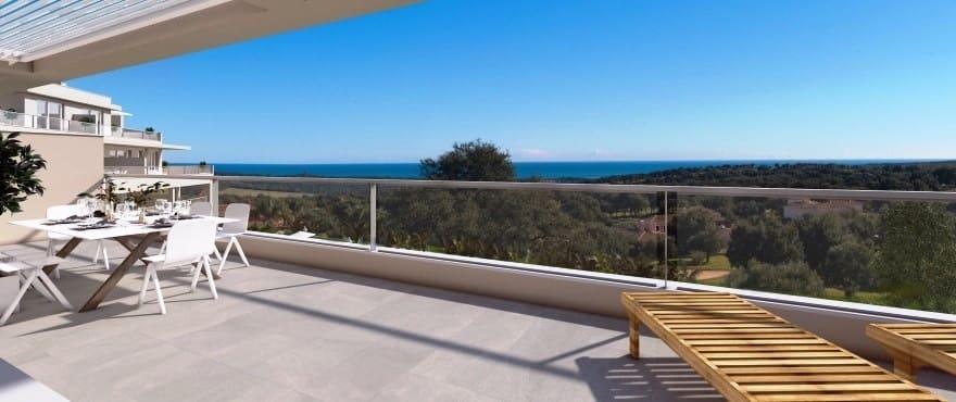 3 soverom Penthouse til salgs i San Roque med svømmebasseng garasje - € 650 000 (Ref: 4687182)