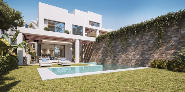 3 sovrum Semi-fristående Villa till salu i Calahonda med pool garage - 895 000 € (Ref: 5093249)