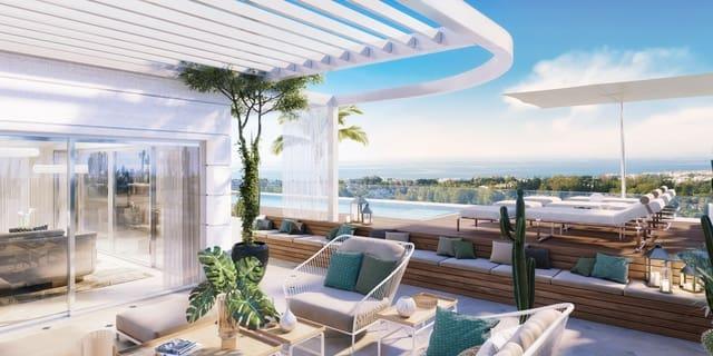 3 quarto Penthouse para venda em Golden Mile com piscina - 3 100 000 € (Ref: 6080841)
