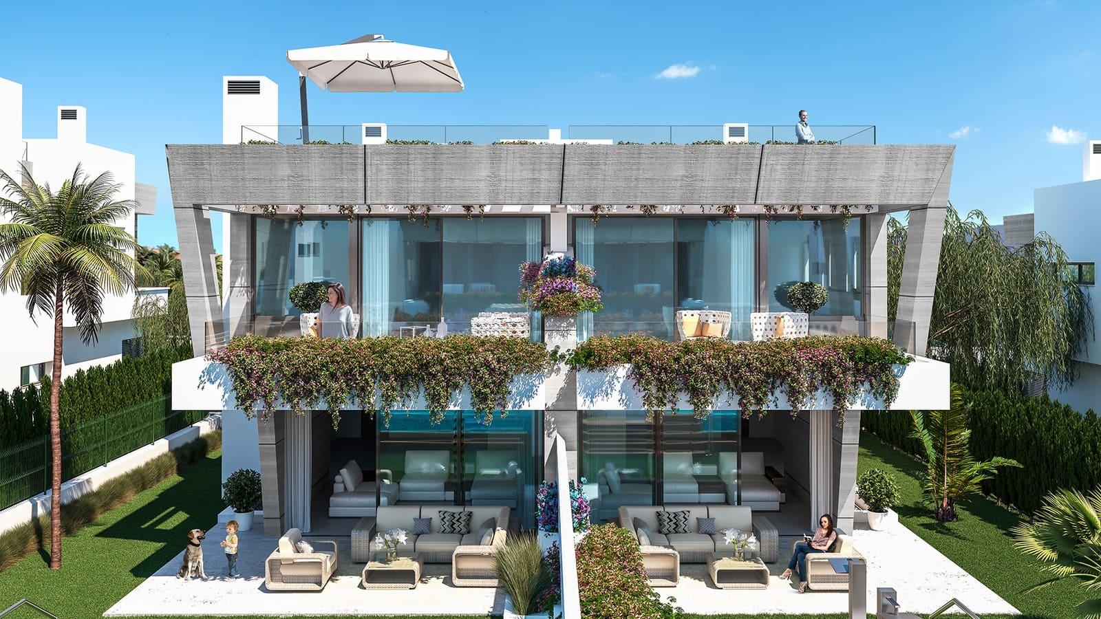 4 soveværelse Semi-Rækkehus til salg i Puerto Banus med swimmingpool - € 1.934.000 (Ref: 6081031)