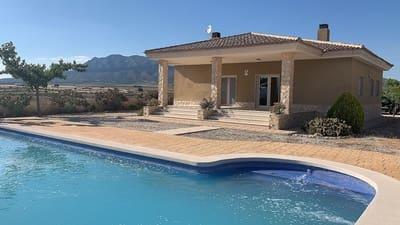 3 bedroom Villa for sale in Pinoso - € 199,950 (Ref: 5393220)