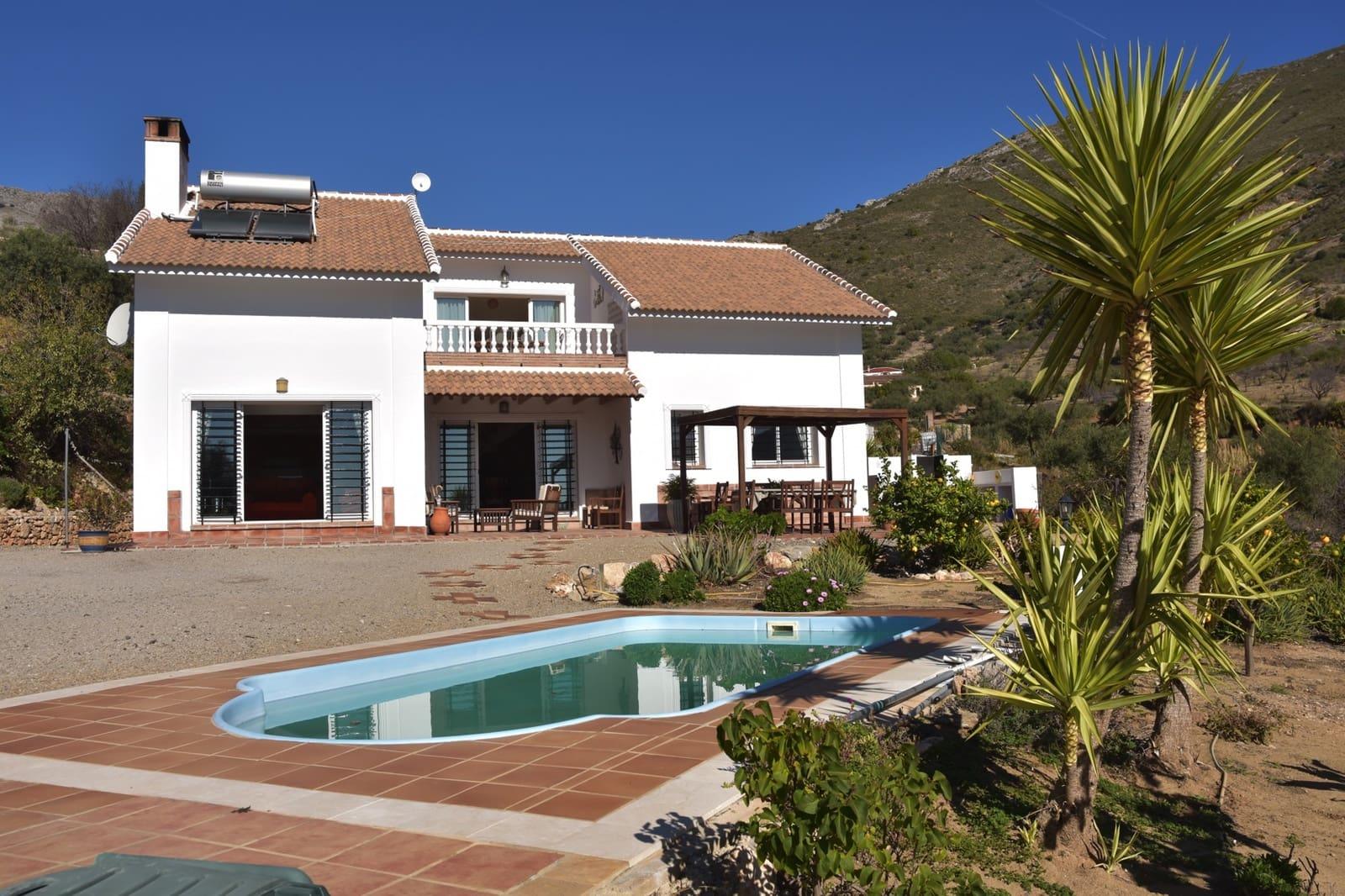 4 bedroom Villa for sale in Alcaucin with pool - € 390,000 (Ref: 4977671)