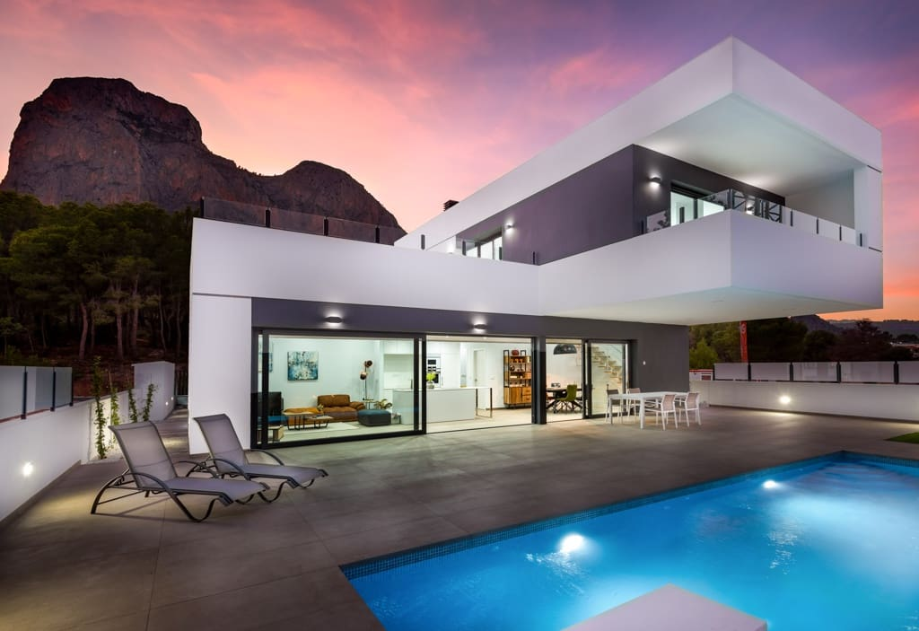 Chalet de 3 habitaciones en Polop en venta - 445.000 € (Ref: 4386702)