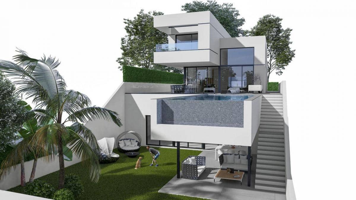 Chalet de 3 habitaciones en Polop en venta - 555.000 € (Ref: 4386703)