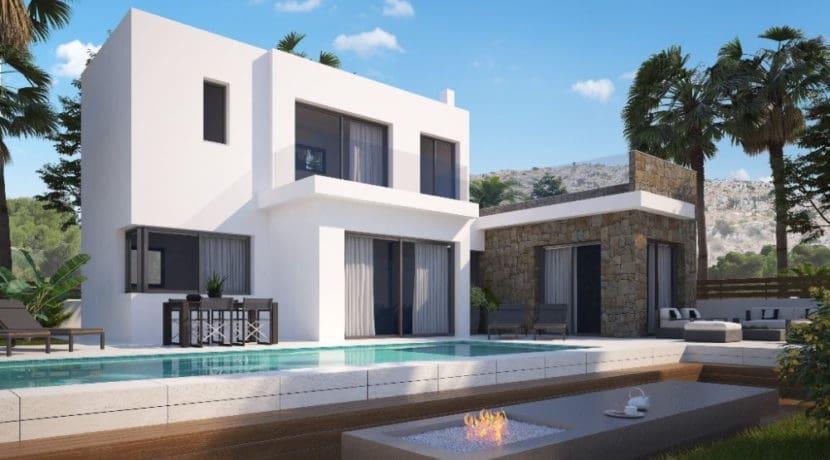 Chalet de 3 habitaciones en Polop en venta - 330.000 € (Ref: 4649256)
