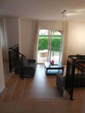 2 soveværelse Villa til leje i Los Belones med swimmingpool garage - € 899 (Ref: 6004614)