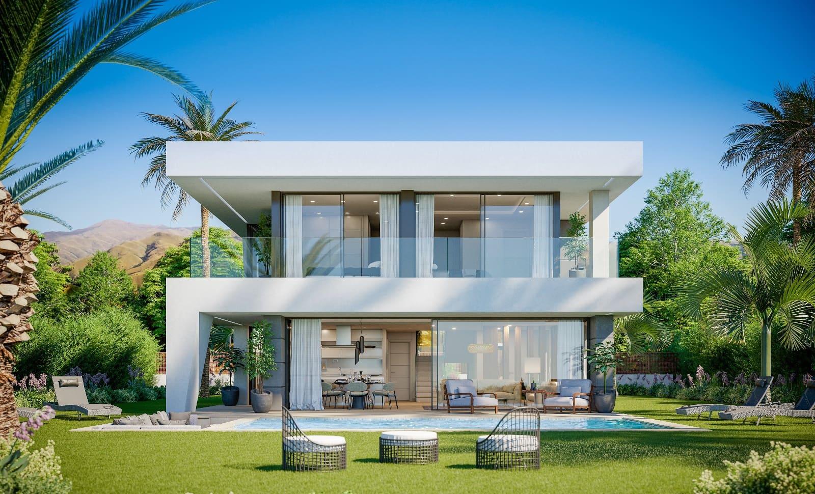 3 bedroom Villa for sale in Manilva with pool garage - € 525,000 (Ref: 5177387)
