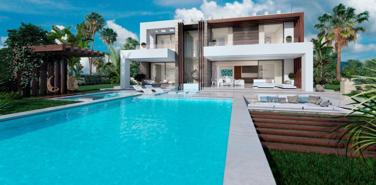 4 bedroom Villa for sale in Manilva with pool - € 985,000 (Ref: 5177477)