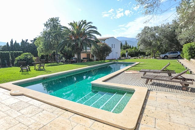 3 sypialnia Finka/Dom wiejski na sprzedaż w Selva z basenem garażem - 615 000 € (Ref: 5248250)