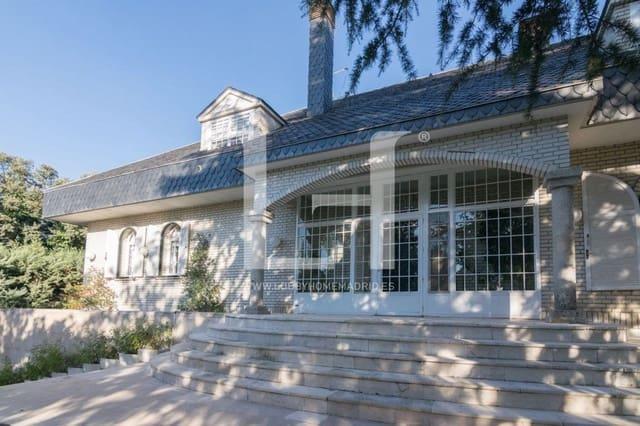 8 Zimmer Villa zu verkaufen in La Moraleja mit Pool Garage - 3.500.000 € (Ref: 6181031)