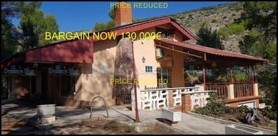 2 chambre Finca/Maison de Campagne à vendre à Muro de Alcoy avec piscine garage - 130 000 € (Ref: 4187080)