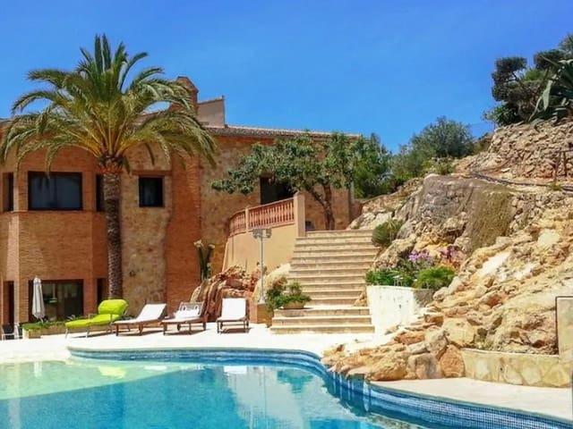 4 sypialnia Finka/Dom wiejski na sprzedaż w Denia z basenem - 1 300 000 € (Ref: 6254127)
