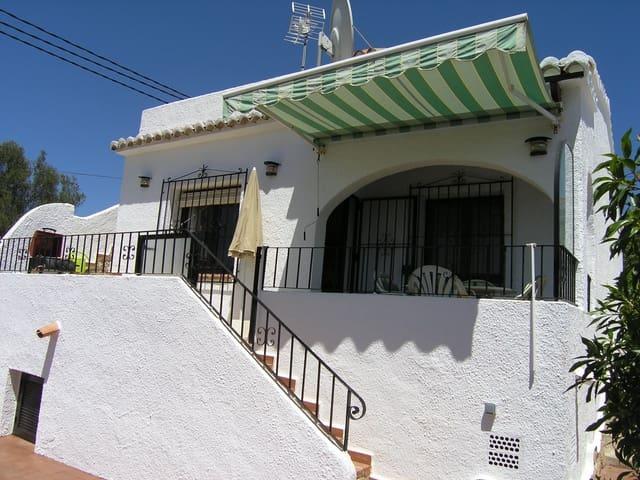 Bungalow de 2 habitaciones en Moraira en alquiler vacacional con piscina - 375 € (Ref: 4120508)