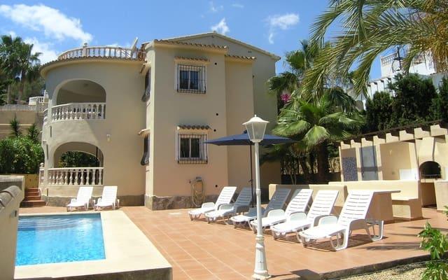 4 sypialnia Willa na kwatery wakacyjne w Moraira z basenem - 550 € (Ref: 4120533)