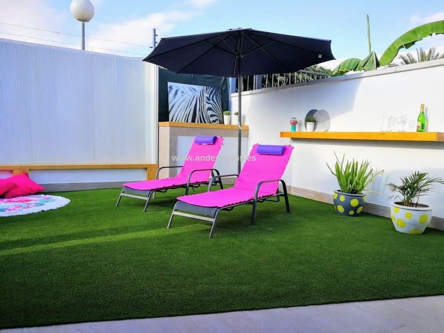 2 slaapkamer Bungalow te huur in Maspalomas met zwembad - € 1.200 (Ref: 5305324)