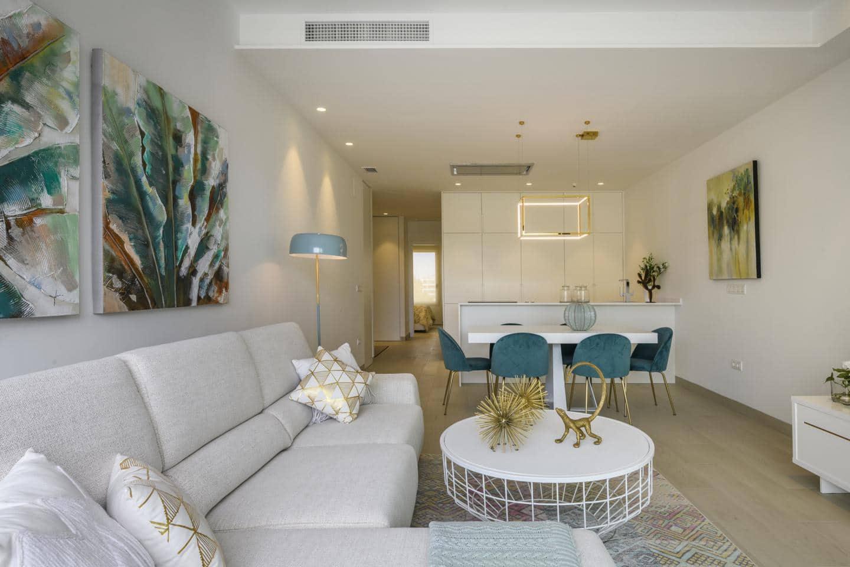 Piso de 2 habitaciones en Las Colinas Golf en venta con piscina garaje - 246.000 € (Ref: 4134523)