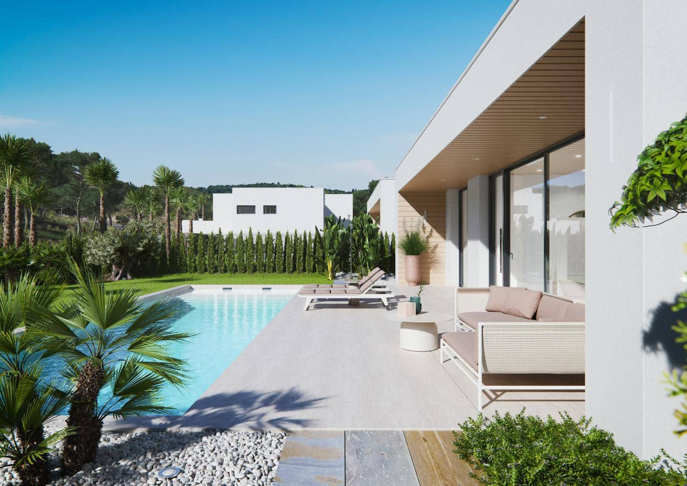 Chalet de 3 habitaciones en Las Colinas Golf en venta con piscina - 545.000 € (Ref: 4142769)