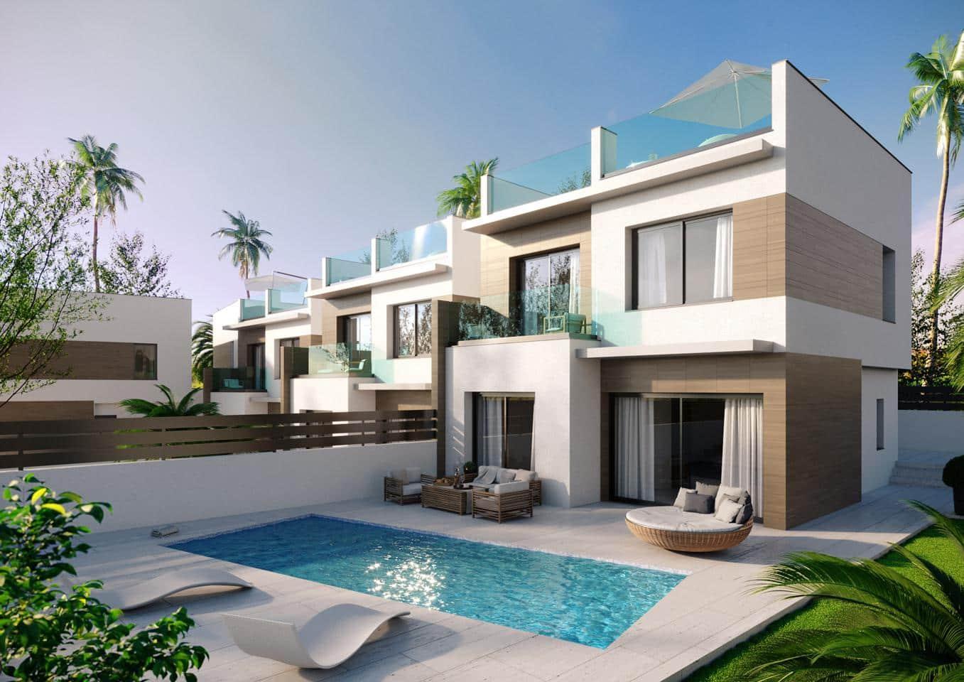 Chalet de 3 habitaciones en Benijófar en venta con piscina garaje - 309.000 € (Ref: 5097551)