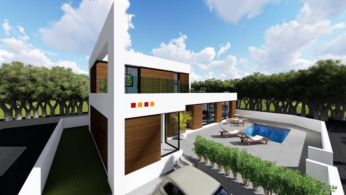 Chalet de 3 habitaciones en Benijófar en venta con piscina garaje - 380.000 € (Ref: 5097612)