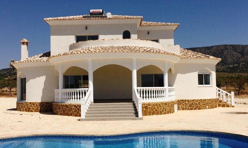 4 sypialnia Willa na sprzedaż w Pinoso z basenem - 325 000 € (Ref: 5476327)