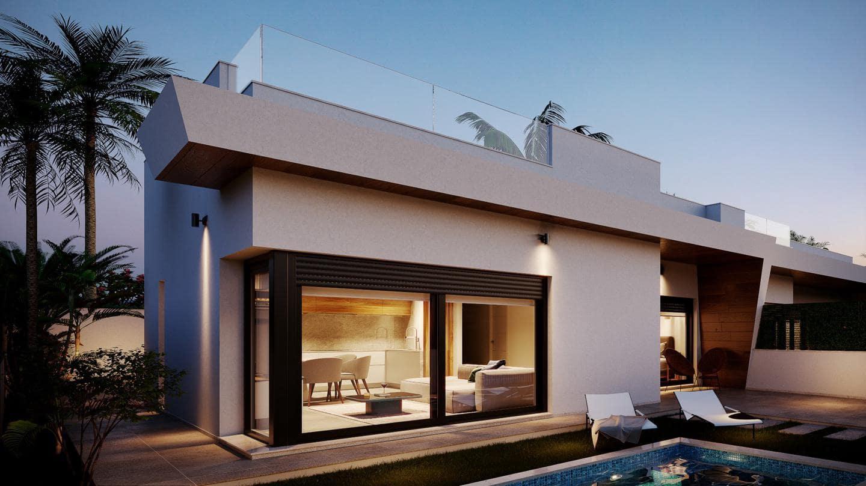 3 chambre Villa/Maison Semi-Mitoyenne à vendre à La Roda avec piscine - 259 500 € (Ref: 5872499)