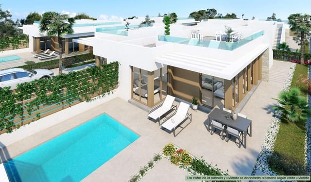 3 chambre Villa/Maison Semi-Mitoyenne à vendre à Vistabella avec piscine - 204 900 € (Ref: 5875111)