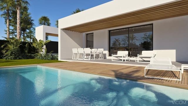 3 camera da letto Villetta Bifamiliare in vendita in Fuente-Alamo con piscina - 219.000 € (Rif: 5905348)