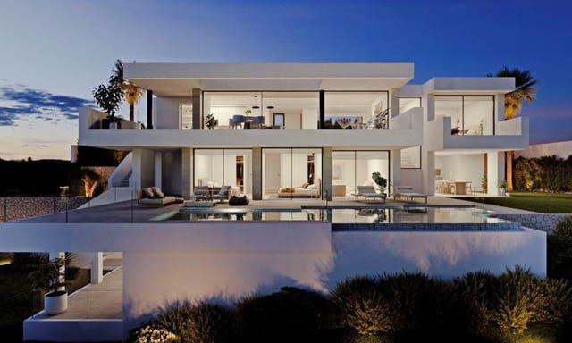 3 makuuhuone Huvila myytävänä paikassa Cumbre del Sol mukana uima-altaan  autotalli - 1 950 000 € (Ref: 6166920)