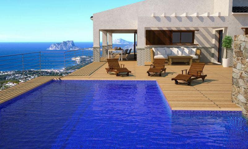 4 sypialnia Willa na sprzedaż w Cumbre del Sol z basenem garażem - 5 140 000 € (Ref: 6166987)
