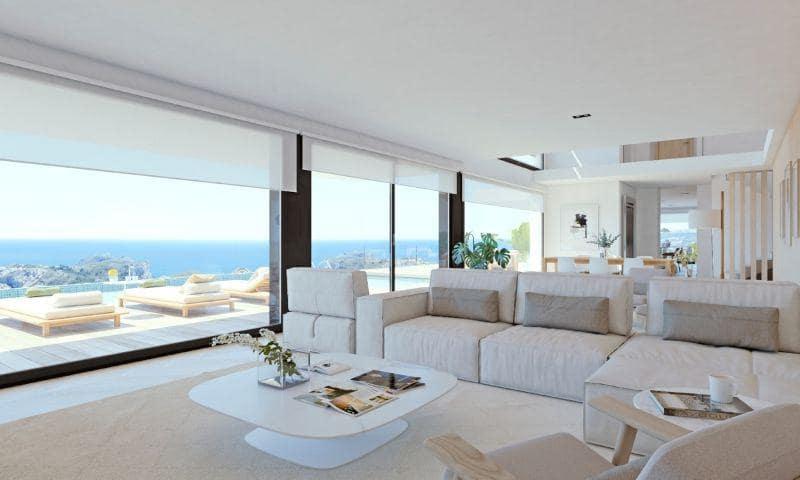 4 makuuhuone Huvila myytävänä paikassa Cumbre del Sol mukana uima-altaan  autotalli - 4 480 000 € (Ref: 6166988)