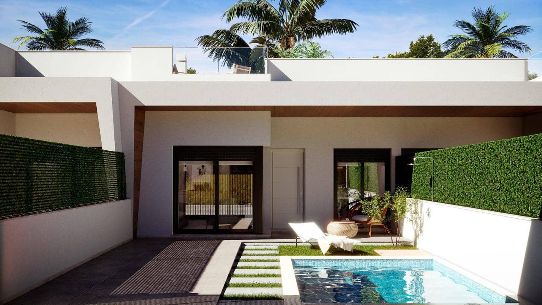 2 quarto Moradia em Banda para venda em La Roda com piscina - 199 500 € (Ref: 6167118)