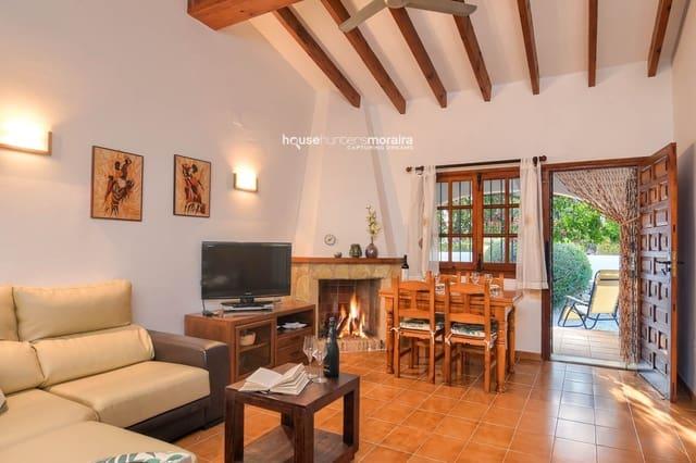 2 quarto Casa em Banda para arrendar em Moraira - 700 € (Ref: 5587085)