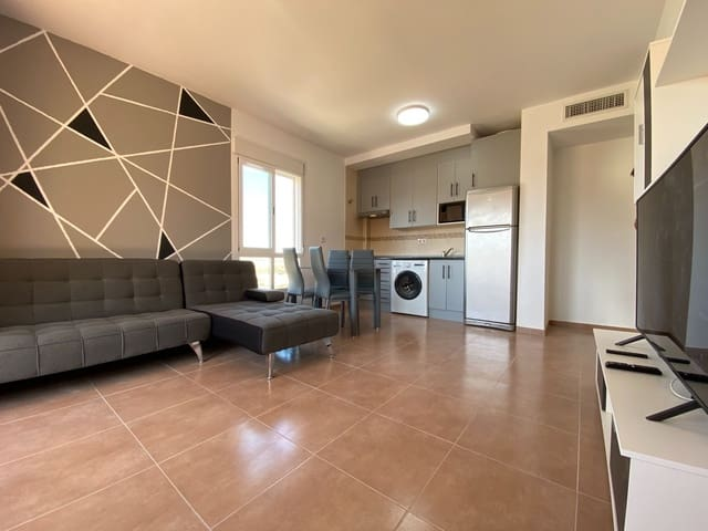 2 Zimmer Apartment zu verkaufen in Garrucha mit Pool Garage - 98.000 € (Ref: 5602786)
