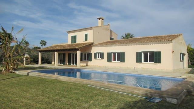 4 soveværelse Finca/Landehus til salg i Cala d'Or med swimmingpool garage - € 1.390.000 (Ref: 5888568)