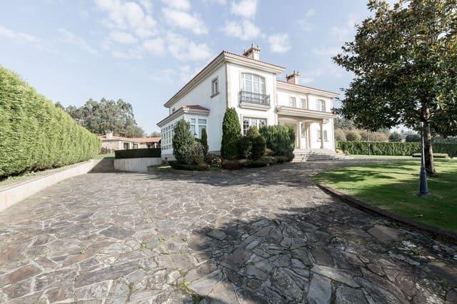5 sovrum Villa till salu i A Laracha med pool garage - 990 000 € (Ref: 5719290)