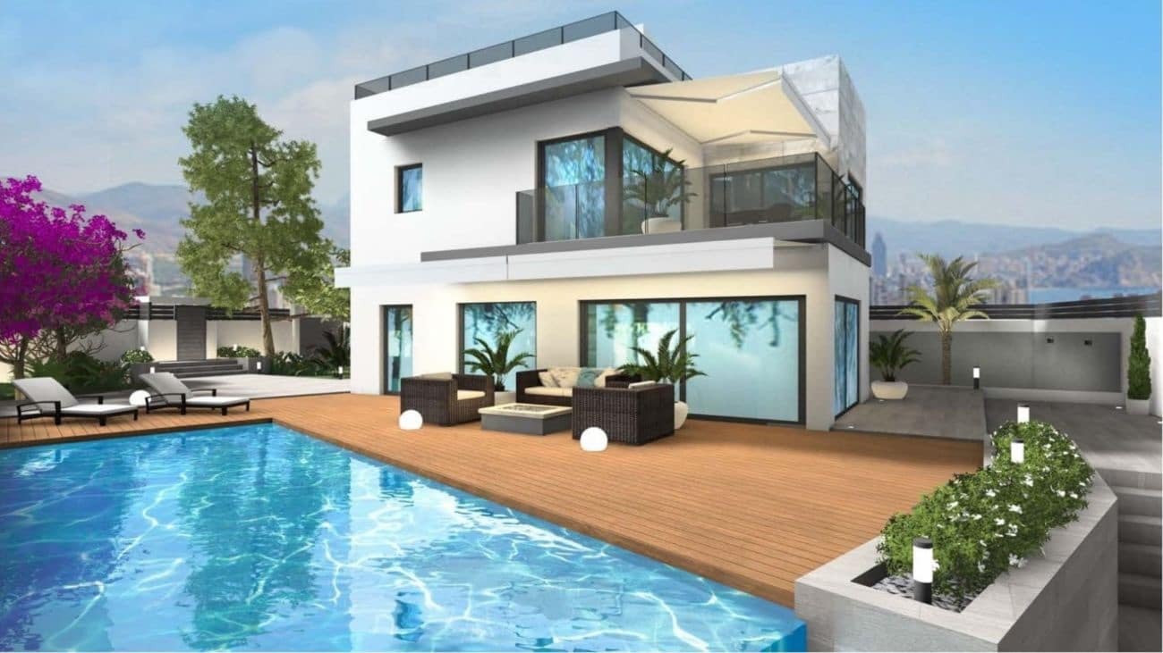 3 bedroom Villa for sale in Finestrat with pool - € 650,000 (Ref: 4635188)